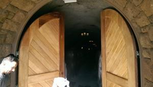 wood doors archery summit winery