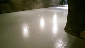 epoxy floor coating for Archery Summit Winery