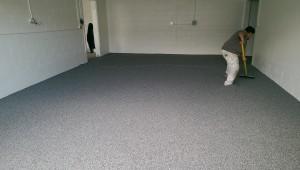 commercial bakery floor