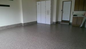residential garage after