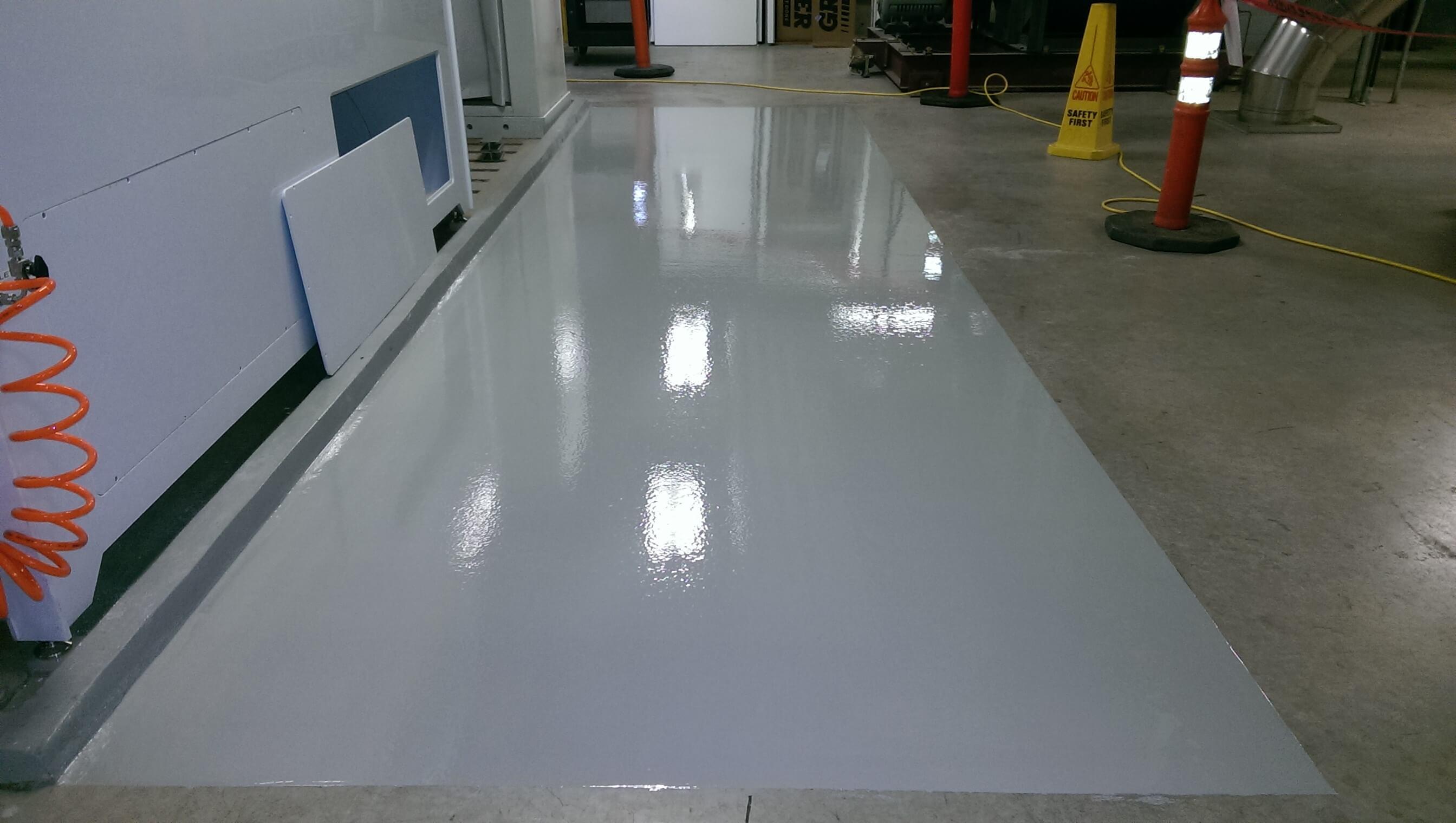 Portland Garage Floor Epoxy Concrete Floor Coating