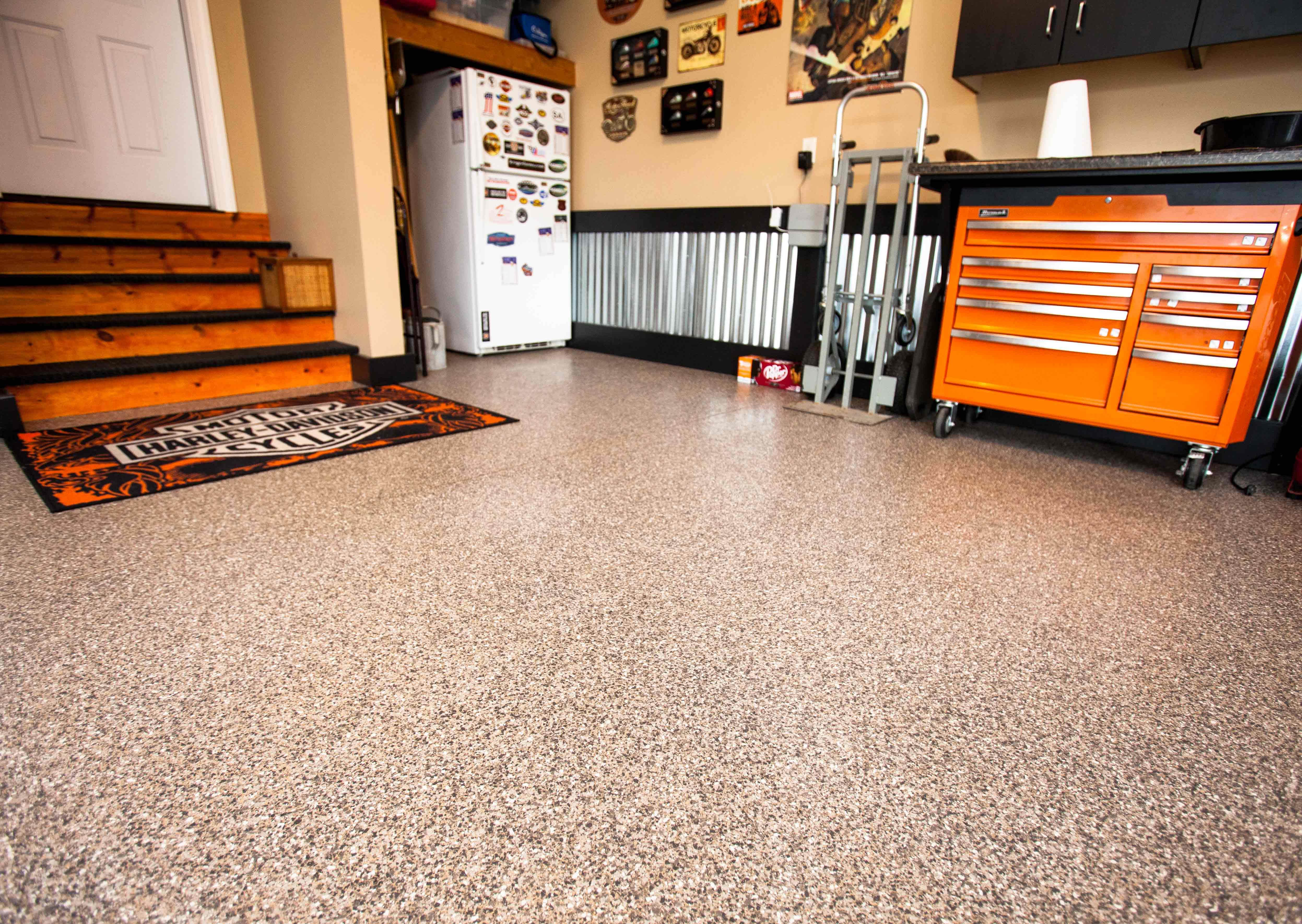 Portland Garage Floor Epoxy Concrete